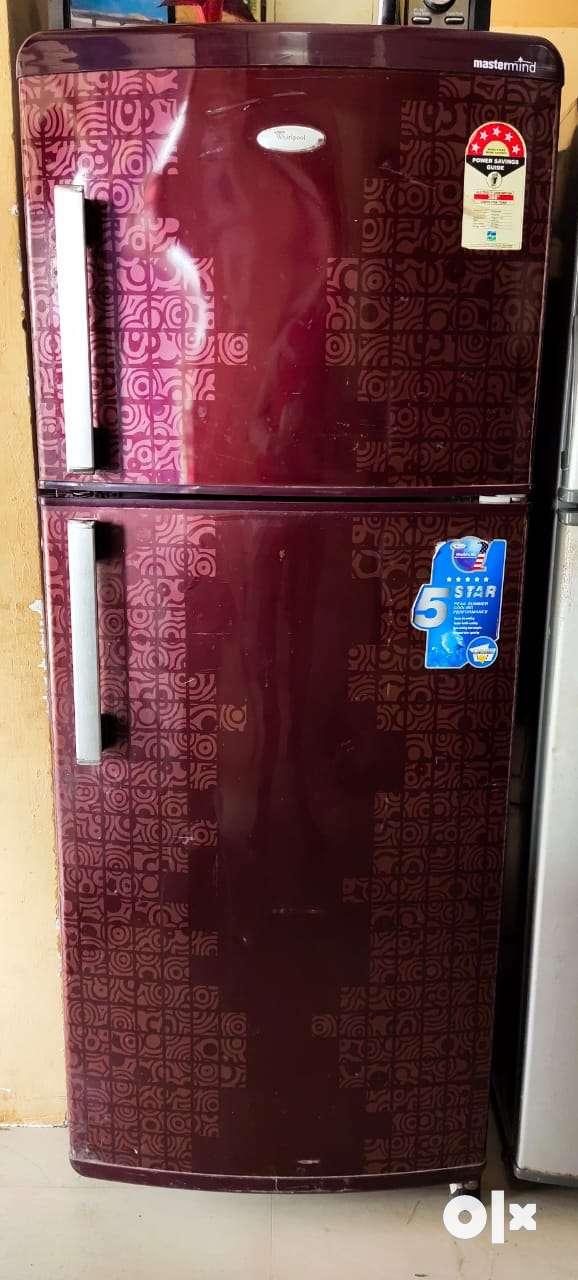 Whirlpool double door fridge good condition