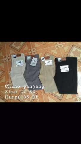 Celana Chino panjang slim