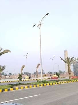 Lighting Poles, HT Poles, Wapda Standard, Steel structure with J Bolts