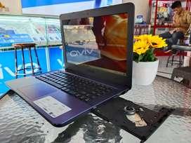 Laptop baru bergaransi