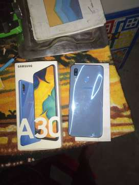 Samsung A30 bill box  charger available