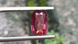 Natural HQ Unheated Ruby or Padparadscha Sapphire gorgeous color RARE
