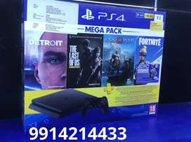 ps4 1 tb one year warranty with bill 22499(games not including) sealed