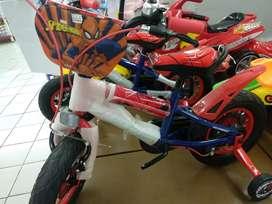 Kids Bike Element Spiderman 2.0 12 inch