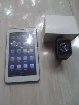 Beli Tablet dual sim GRATIS JAM ANDROID