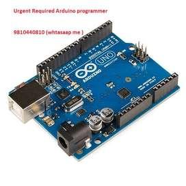 Urgent Required Arduino Programmer