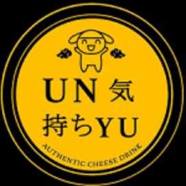 Lowongan Kerja Karyawan / Karyawati Booth Minuman UNYU Cheese Tea