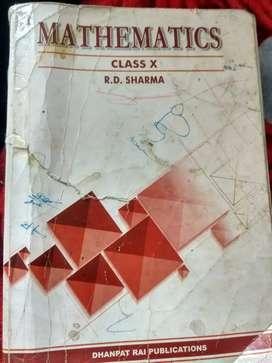 Book for sale{R.D SHARMA}class 10th