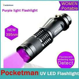 Senter LED CREE UV 395MN Q5 ( Ultra Violet )