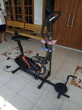 The best fitnes Sepeda lari New Orbitrek elite 5 fungsi