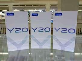 Vivo y20 ram 4/64gb new garansi resmi 1 tahun