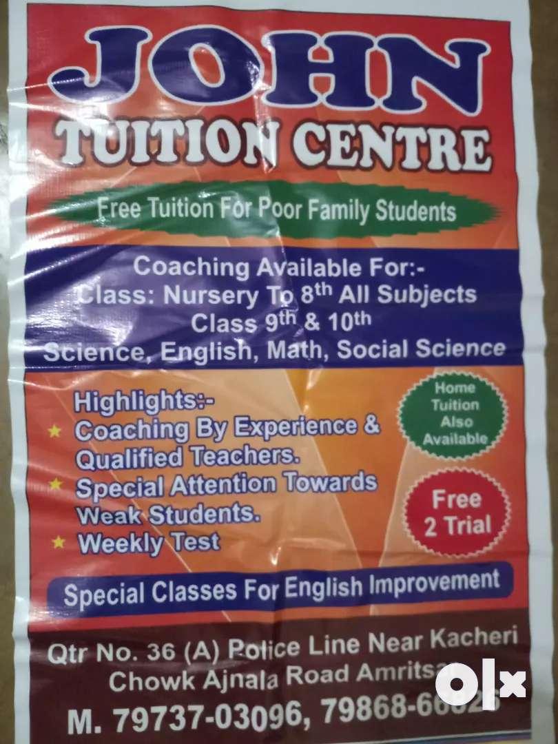 John Tution centre