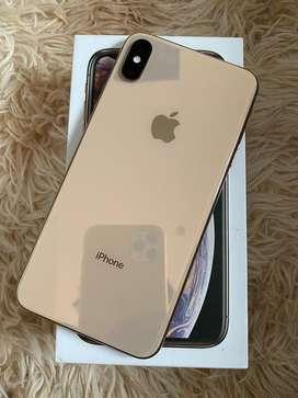 Iphone XS Max 256Gb Ibox Istimewa Warna Gold