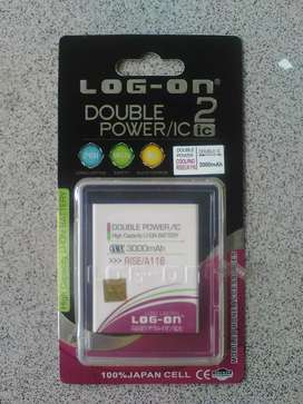 Baterai Double Power Log on untuk handphone Coolpad Rise A 116