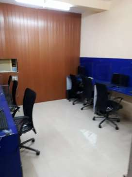 Station furnish office 630sq.feet for sale