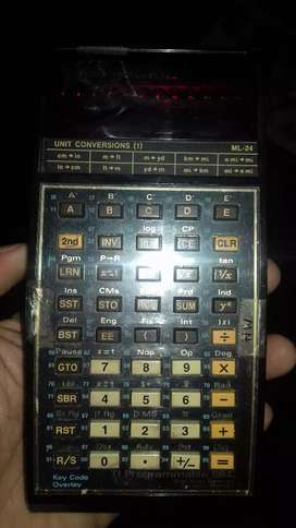 Kalkulator pintar generasi awal texas instrument