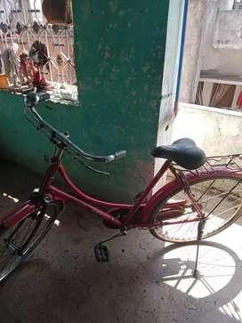 Cycle bechni hai