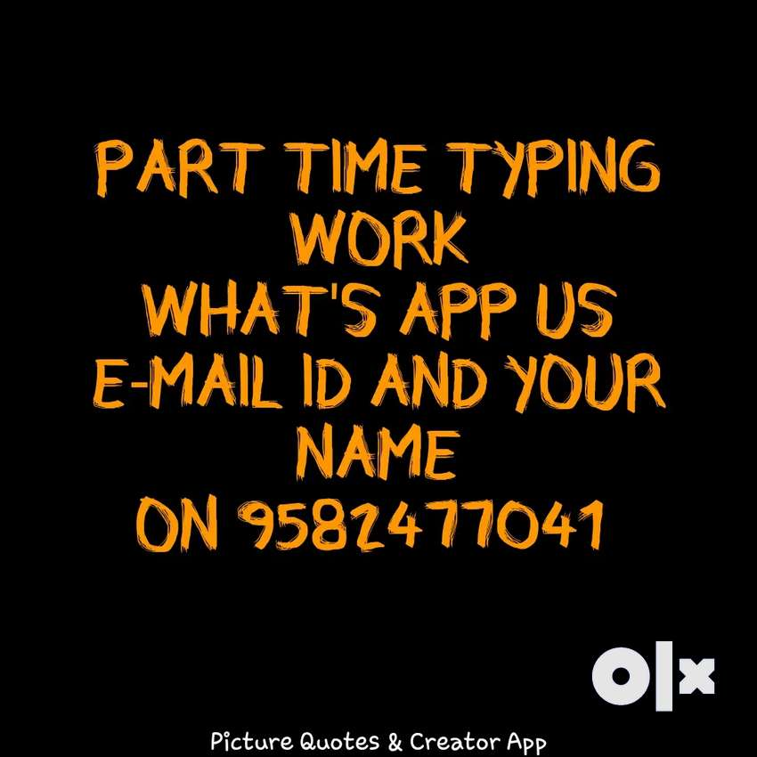 Simple typing jobs available 0