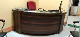 Office Counter round shape