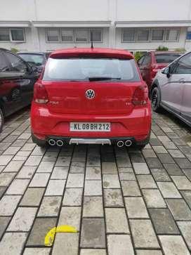 Volkswagen Polo rear bumper Diffuser