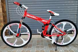 Mercedes-Benz, BMW, Land Rover, Ferrari Foldable Cycles Available: 26T