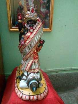 Beautiful Kosti Stone Kali Statue on Sale