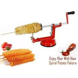Spiral Potato Slicer / Chips / Pengiris / Pemotong Kentang Spiral