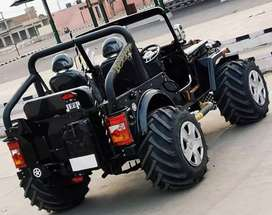 Mahindra di Modified Willy jeep ready on order