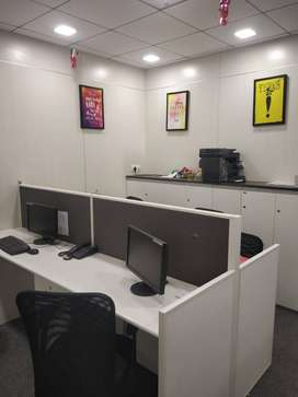 Furnished office available for rent near belapur station
