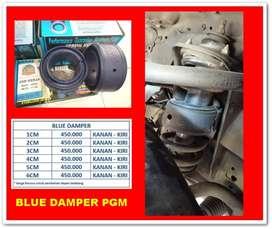 BLUE DAMPER SPORT DAMPER UNTUK BANTU ATASI LIMBUNG PD MOBIL,BISA COD!