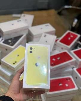 Iphone 11 64gb new 1 tahun  .