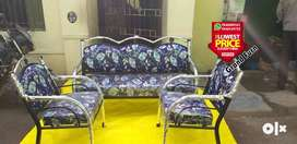Mass look sale of brand new steel diwan sofa sets 5 3 seater available