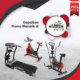 Grosir Alat Fitness - Sepeda Statis Treadmill - MG Sports !! MG#9610