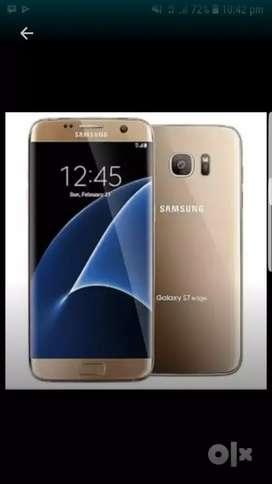 Samsung galaxy s7edge gold