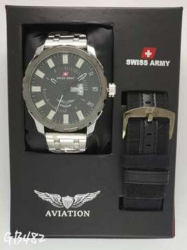 Swiss Army Aviation free strap