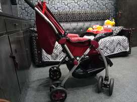 Beatiful baby trolly for sale only one day used