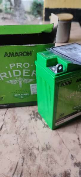 Bike Battery amarom 2 years warranty