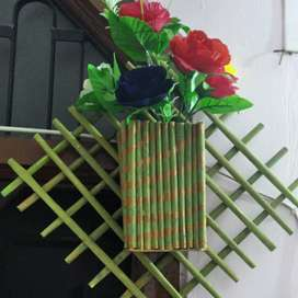 Handmade fancy flower pot