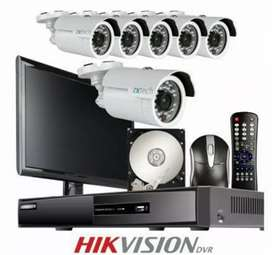4 chanel dvr hikvision lcd 1080 with insulation 25000