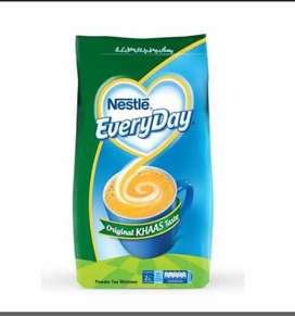 Every day 375 GM milk Nestle powder 450 Rate hole sale 400