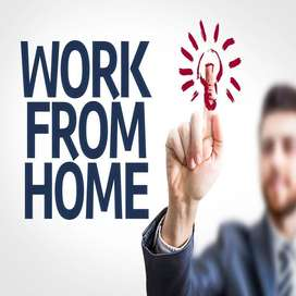 Looking people for work from home.Earn Weekly Rs10k