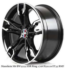 Velg BMW M6  Ring.17X8 Hole.5X120 ET35 BMF