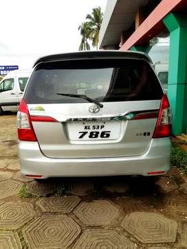 Toyota Innova 2.5 ZX 7 STR BS-IV, 2013, Diesel