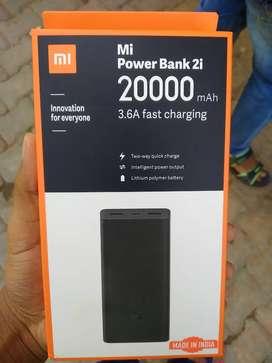 Mi power bank 20000 mah