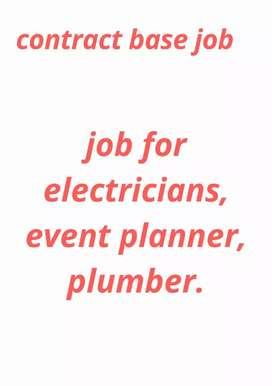 Job for  events planner , event organizer , wedding planner