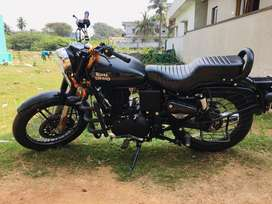 Latest model Royal enfield X Jet black 350 CC for sale with all papers