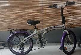 Dijual cepat sepeda lipat exotice size dewasa