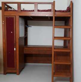 Bunk Bed cum Study Table - Must Sell!! PRICE DROP!!