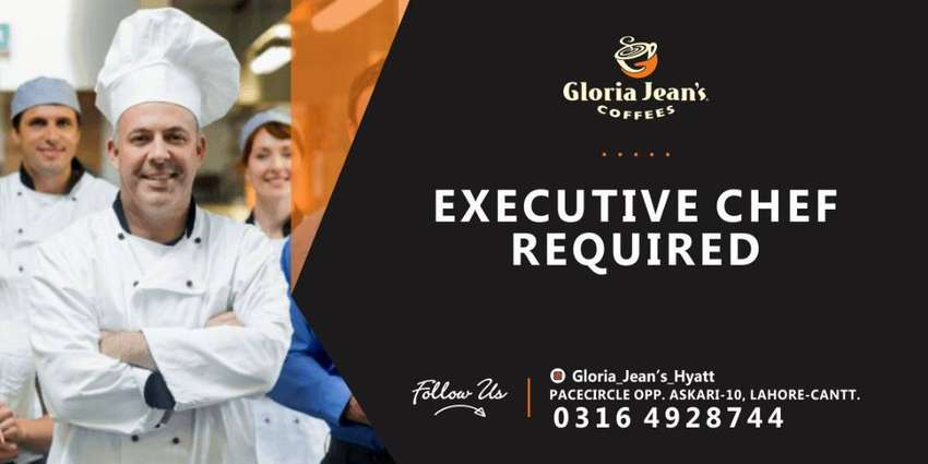 Urgently Required Executive Chef 0