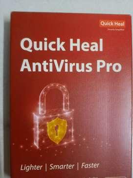 Quick Heal AntiVirus Pro 3 years / Antivirus /Anti-virus